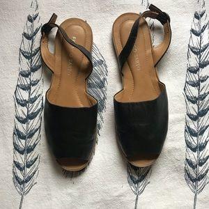 Franco Sarto Black Sandal Sz6.5
